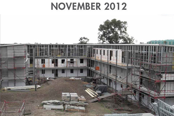 University of Stellenbosch Progress