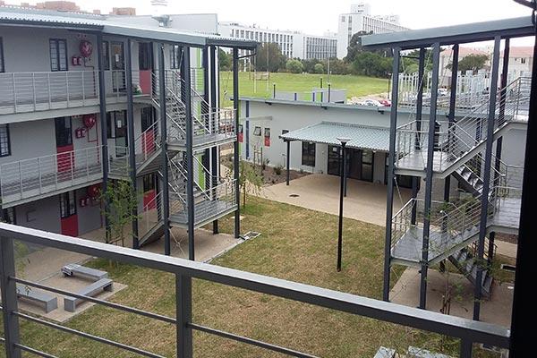 Stellenbosch University Kerkenberg Courtyard