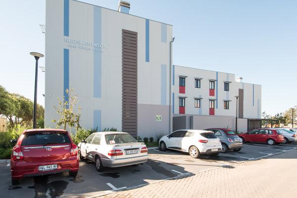 Nkosi Johnson Residence Parking